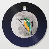 Fly me to the moon Cutting Board by savousepate