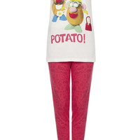Mr Potato Head Tee and Leggings PJ Set - New In - Topshop