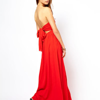 ASOS | ASOS Maxi Dress With Bow Back at ASOS
