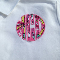 Monogrammed/Applique Polo
