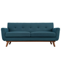 Engage Loveseat - Azure