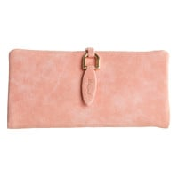 Slim Suede Leather Wallet