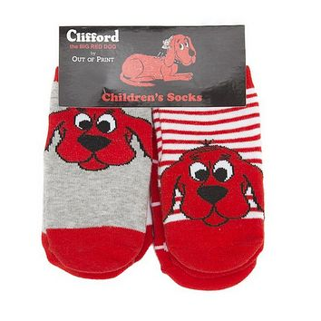 Clifford the Big Red Dog Toddler Socks