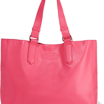 Lanvin - Shopper leather tote