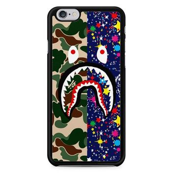 A Bathing Ape X Shark iPhone 6/6S Case