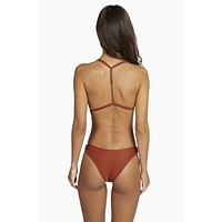 Byron High Cut Bikini Bottom - Ginger Orange