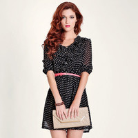 lydia polka dot dress - $39.99 : ShopRuche.com, Vintage Inspired Clothing, Affordable Clothes, Eco friendly Fashion