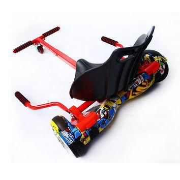 High quality Hoverboard Go Kart Conversion Kit for All size Hoverboards All Ages Self