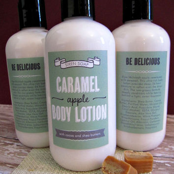 Caramel Apple Body Lotion, Shea Lotion
