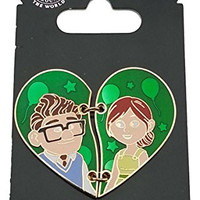 Disney Pin - Up - Carl and Ellie Two Piece Heart