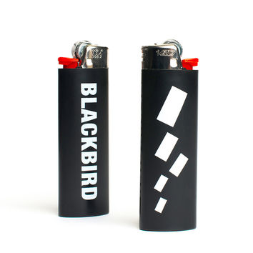 BLACKBIRD LIGHTER IN BLACK