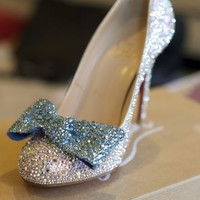 Crystal/strassing services ~ Get your PERFECT Cinderella Shoes for a LOT less! « Weddingbee Classifieds
