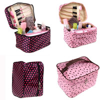 Big Fashion Cosmetic Bag Storage Make Up Organizer Handbag H10643