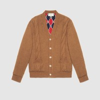 Gucci Reversible wool cardigan