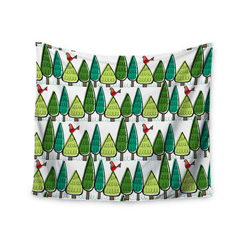"Holly Helgeson ""Vintage Christmas"" Holiday Pattern Wall Tapestry"