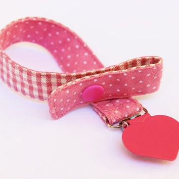 Universal Pacifier clip, Baby pacifier clip, Japanese fabric, Binky Clips, Baby Girl pacifier, Paci Clip, Binky clips, Baby pacifier holder
