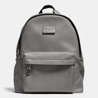 CAMPUSbackpackin refined pebble leather