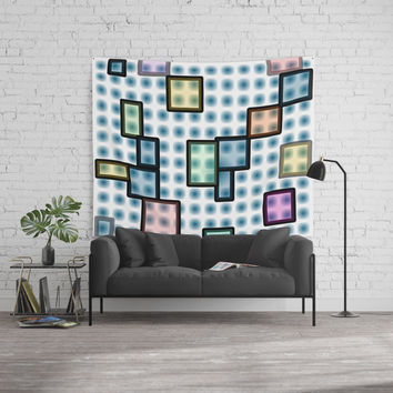 zappwaits glass Wall Tapestry by netzauge