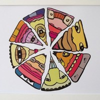 Buy 'Pizza' Print on Shoply.