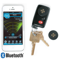 Stick-N-Find Bluetooth Location Tracker at Brookstone—Buy Now!