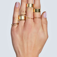 Cassia Multi Pack Stack Ring Set