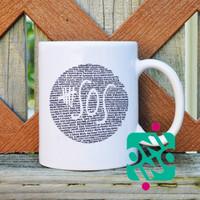 5 SOS Logo Quotes Coffee Mug, Ceramic Mug, Unique Coffee Mug Gift Coffee