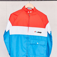 Vintage Jeep Red/White/Blue Jacket - Urban Outfitters