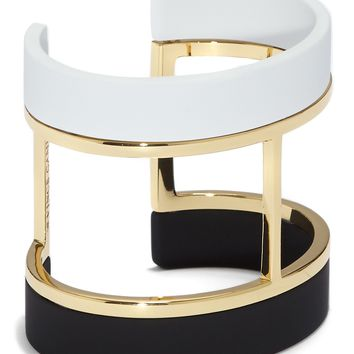 Vince Camuto | Rubber Coated T-Bar Cuff Bracelet | Nordstrom Rack