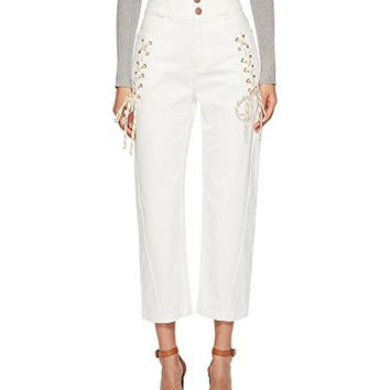See by Chloe Lace-Up Pants