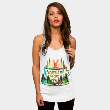 Adventure Is Calling You Racerback By Famenxt Design By Humans