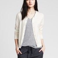 Banana Republic Womens Pima Cotton/Cashmere Anna Cardigan