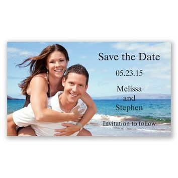 Only Photo Magnet - Save the Date | Invitations By David's Bridal