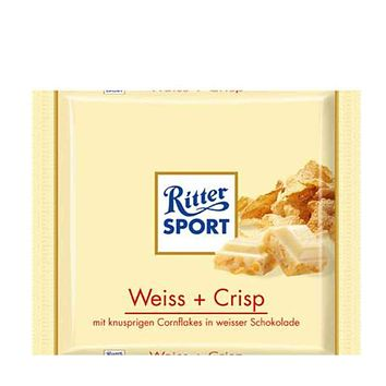 Ritter Sport White Chocolate Crisp, 3.5 oz (100 g)