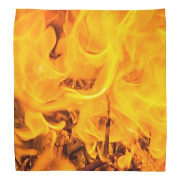 Fire and flames bandana