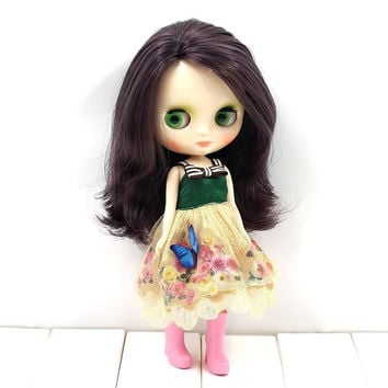 DIY Doll Making Nude Factory Middie Blythe - Custom 20cm (8) Blythe Dolls High Quality Doll Supplies - No Clothes - Free Shipping Worldwide