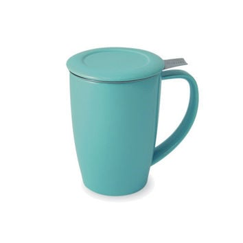 Curve Tall Tea Mug with Infuser & Lid [386] - $23.50 : FORLIFE, Online Shop