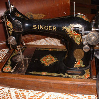 Vintage Singer Portable Sewing Machine in by angiescollectibles