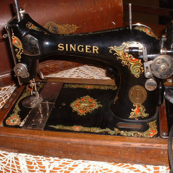 Best Vintage Singer Sewing Machine Products On Wanelo Interesting Vintage Singer Portable Sewing Machine