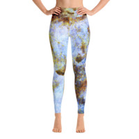 Hubble's Infinite Sacred Clouds || Yoga Leggings - Live In Love