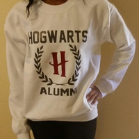 Harry Potter Inspired  Hogwarts sweatshirt, Hogwarts Always Symbol Sweatshirt, Hogwarts Alumni Sweatshirt