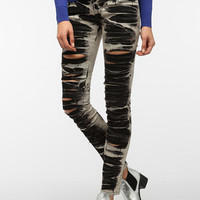 Tripp NYC Marble Ripped Jean