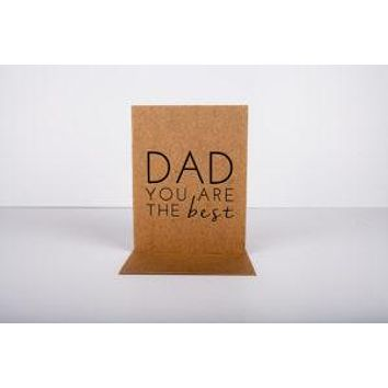 Dad You Are The Best Card