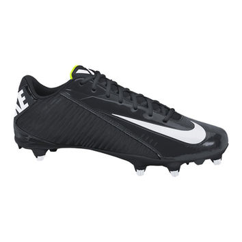 Nike Men's Vapor Strike 4 Low D Black/White Football Cleats