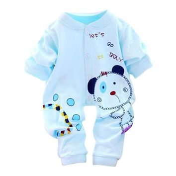 Baby Kids Boy Girl Infant Romper Jumpsuit Cotton Clothes Outfit baby clothes