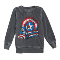 Marvel Captain America Toddler Crew Pullover