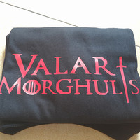New Summer Style Valar Morghulis game of thrones T shirt Men Camisetas Manga Curta Camisa Masculina tee T-shirts