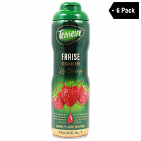 Teisseire French Strawberry Syrup (20 oz. x 6)