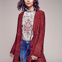 Free People Drop Waist Soft Jacket