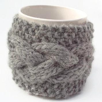 mug cozy knitted mug warmer
