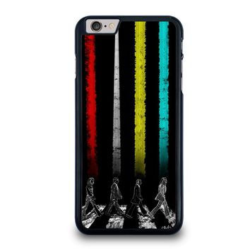 THE BEATLES COLOR ROAD iPhone 6 / 6S Plus Case